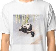 Pandas In The Snow Too Classic T-Shirt