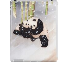 Pandas In The Snow Too iPad Case/Skin