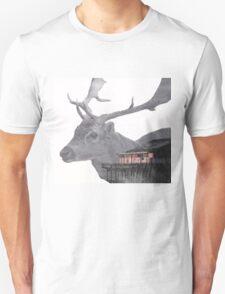 Deer Multiple Exposure Unisex T-Shirt