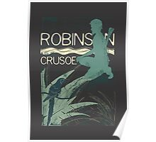 I Love Books Collection: Robinson Crusoe Poster