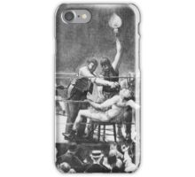 GEORGE WESLEY BELLOWS,  BETWEEN ROUNDS iPhone Case/Skin