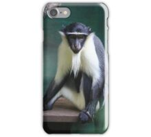 Critically Endangered Roloway Monkey Gifts iPhone Case/Skin