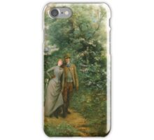Georges Jules Victor Clairin (French, ) An Afternoon Stroll, iPhone Case/Skin