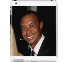 Tiger Woods - Drunk Smile Meme Funny iPad Case/Skin