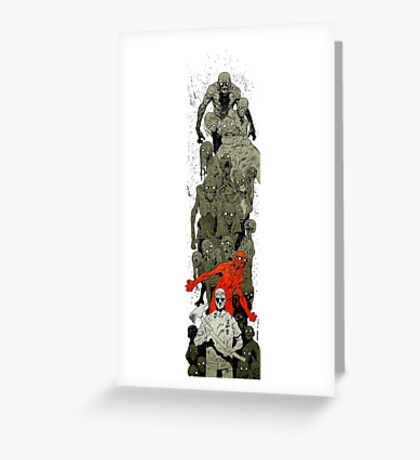 Walking Dead art Greeting Card