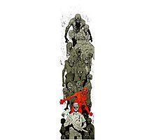 Walking Dead art Photographic Print
