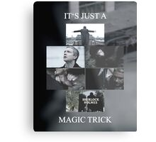 Magic Trick Metal Print