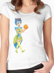 Steampunk Joy Mash Up Inside Out Women's Fitted Scoop T-Shirt