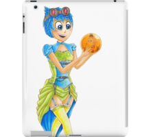 Steampunk Joy Mash Up Inside Out iPad Case/Skin