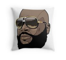 Ricky Rosay Throw Pillow