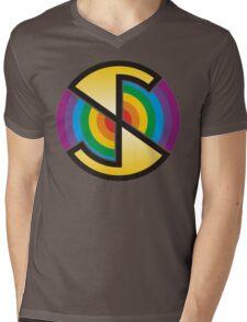 Spectrum - T-Shirt Print Mens V-Neck T-Shirt