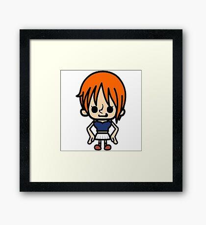 Nami One Piece Framed Print