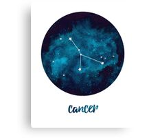 Cancer // June 21st - July 22nd Canvas Print