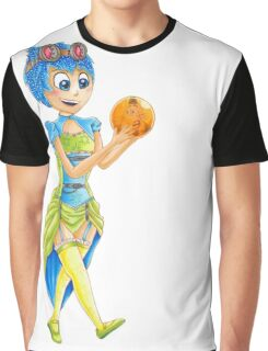 Steampunk Joy Mash Up Inside Out Graphic T-Shirt