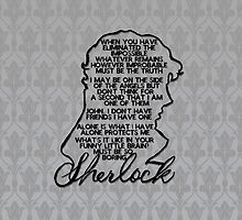 BBC Sherlock quote picture by tigerdimension
