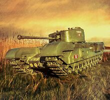 Churchill Tank by peaky40