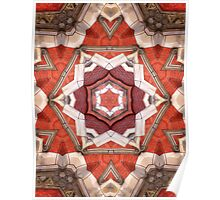 Abstract Geometric Architecture Poster