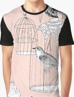 bird in the cage  Graphic T-Shirt