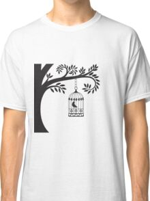 Bird Cage   Classic T-Shirt