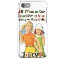 Faith in our Humanity iPhone Case/Skin