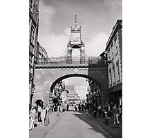 Chester Eastgate Clock Photographic Print