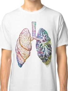Lungs - Colours Classic T-Shirt