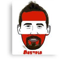 EURO  2016 Austria Canvas Print