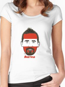 EURO  2016 Austria Women's Fitted Scoop T-Shirt