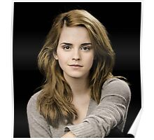 Beautiful Emma Watson by sitorus Poster