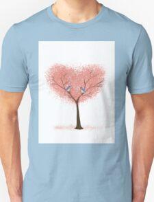 Bluebird Blossoms Unisex T-Shirt
