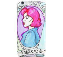Mulder, It's Me iPhone Case/Skin
