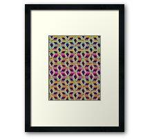 dunnoz knit #1 Framed Print