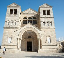 church of the Transfiguration, mount Tabor, by PhotoStock-Isra