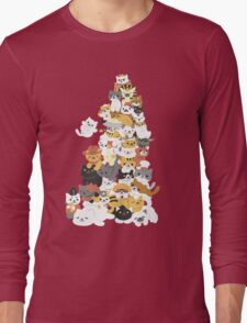 cat pile Long Sleeve T-Shirt