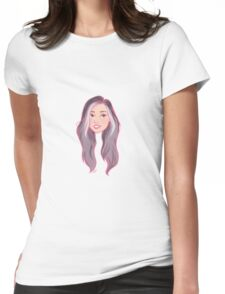 cartoony jeed Womens Fitted T-Shirt