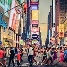 Times Square Summer by Randy  LeMoine