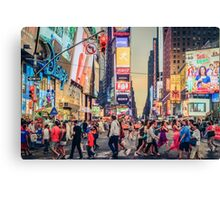 Times Square Summer Canvas Print