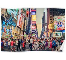 Times Square Summer Poster