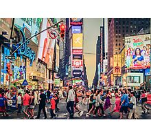 Times Square Summer Photographic Print