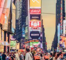 Times Square Summer Sticker