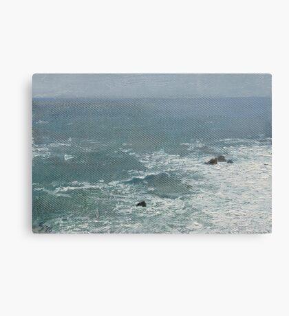 The Tiny Ocean Canvas Print
