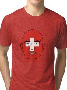 EURO  2016 Switzerland Tri-blend T-Shirt