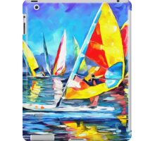 Yellow Surfboard iPad Case/Skin