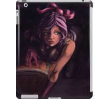 Pink cat chest iPad Case/Skin