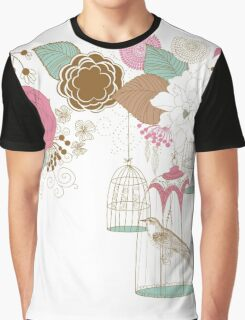 Bird Cage #1  Graphic T-Shirt