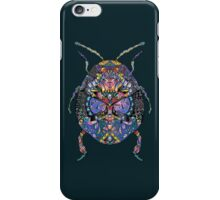 Patterned Scarab iPhone Case/Skin