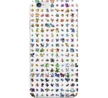 all of da pokemon iPhone Case/Skin