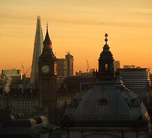 Beautiful London winter morning by Themis