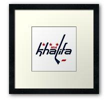 Mia Khalifa Caps Logo Framed Print