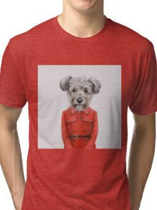 dog girl Tri-blend T-Shirt